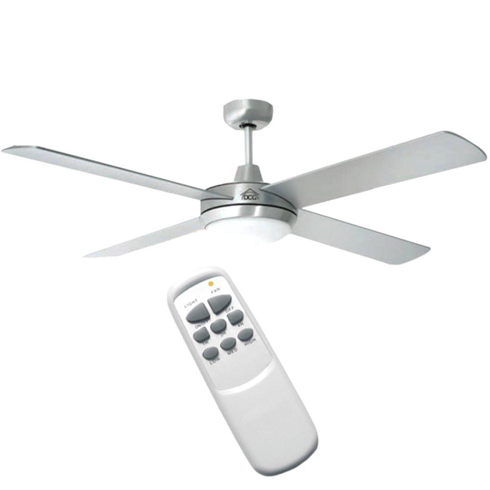 ventilatori da soffitto con luce e telecomando